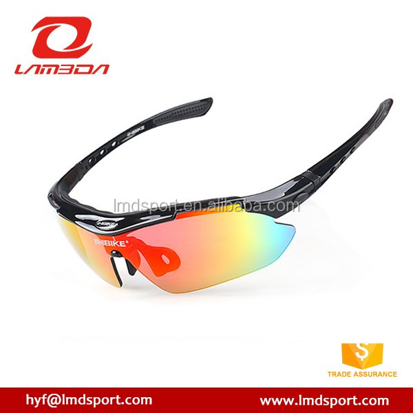 2016 OEM Optical Inserts Cycling Glasses 5 Lens Prescription Sport Glasses Interchangeable Sunglasses For Outdoor Sport