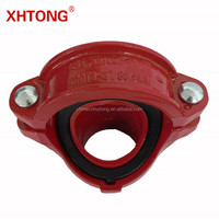 FM UL CASTING/ DUCTILE IRON Pipe Fittings Grooved Mechanical Tee