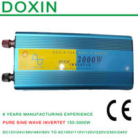 3000w solar panel micro 36v dc to 120v ac inverter power supply 12v