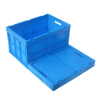 600*400*345MM Plastic crates with handles without lid