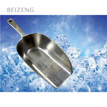 Aluminum Multifunctional Shovel for Any Kind of Goods Flat Bottom Ice Bucket Scoop
