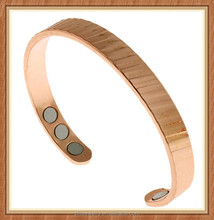 alibaba website hot new products for 2015 nice pattern far infrared negative ion bracelet magnetic copper health bracelets