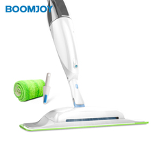 BOOMJOY New Design Multifunction Steam Mop with Carpet Sweeper Combined Easy Mop and Sweeper without Battery
