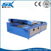 wood craft laser engraving cutting machine/craft,rubber,leather,glass cheap big size laser carver