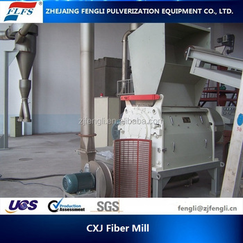 CXJ-500 and Cotton Fibre Pulverizer Fine Fiber Mill