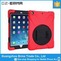 NEW SHOCKPROOF PROTECTIVE TOUGH RUGGED RUBBER BUMPER CASE FOR I PAD