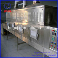 vegetable and fruit microwave sterilizer, microwave tunnel dryer