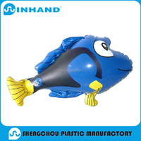 hot sale and attractive inflatable fish toys with big eyes for entertainment
