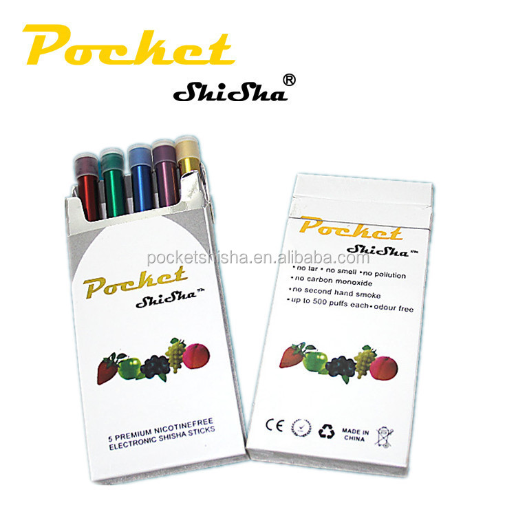 Healthy smoking e-cigarette rubber disposable tips pocket shisha 500pluffs best price ever