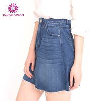 New Style Garment Dyed Wrap Jean