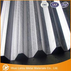 Chinese supplier list metal roofing sheets prices/aluminium product/embossed