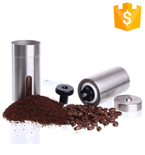 Mini stainless steel Hand conical burr Coffee Grinder coffee bean