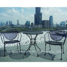Quality Wrought Iron Outdoor Furniture Chairs And Table