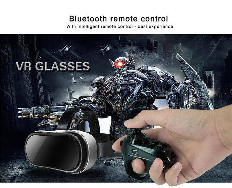 New style finger ring BT vr remote magicsee R1 Bluetooth 4.0 remote controller work together with vr glasses