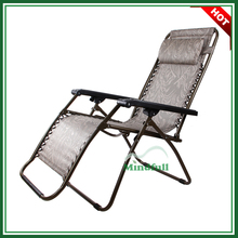 Outdoor Adjustable Zero Gravity Chair Portable Lounge Chair With Pillow
