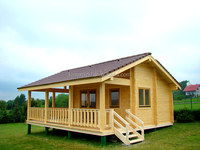 beautiful design living cabin chalet wooden house