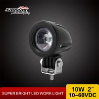 Motorcycle work light 10W snowmobile light cree led light