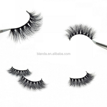 Handmade 3D Mink Eyelashes perfect for the most glamorous beauty looks with False eyelash packaging