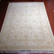 7x10ft the seeds of hope hereke silk area rugs hand knotted 100% silk carpet for sale
