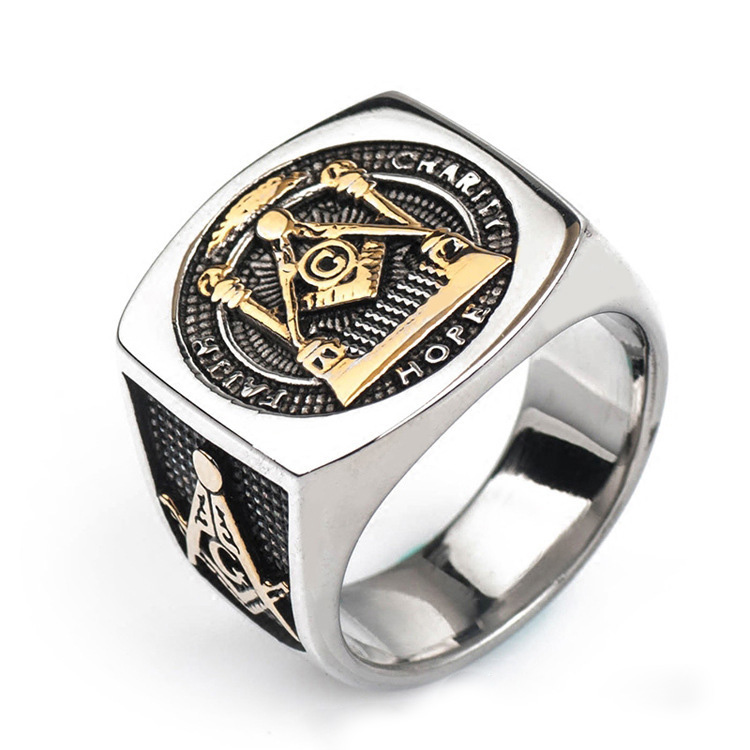 Latest custom popular design mens' stainless steel metal <strong>rings</strong>