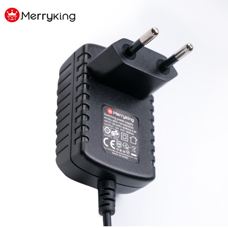 Universal Input AC 220V To DC 0.5A Power Adapter 12V Charger