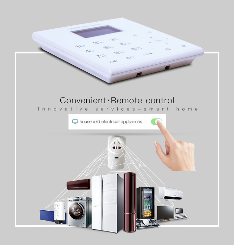 2.4G WIFI frequency Android+IOS APP application panic button gsm alarm with SOS button