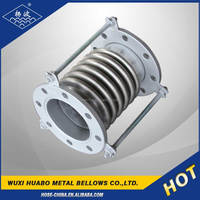 Yangbo stainless steel corrugated metallic bellows