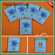 1sheet/Sachet Lemon Scented Single Packed Individual Restaurant Hand Wipes