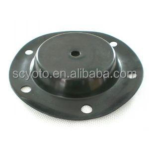Fabric rubber diaphragm for gas regulator