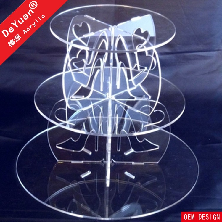 Modern Cake Stands In Round Shape Cheap