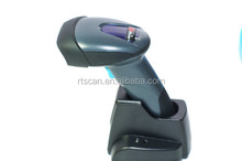 1d/ 2d barcode scanner with wireless bluetooth or 433Mhz