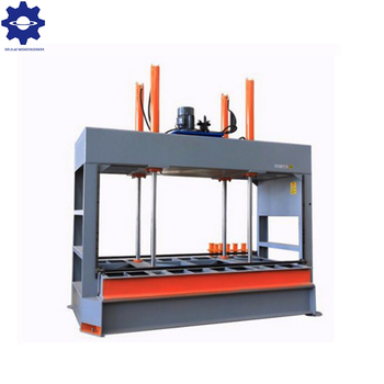 Cold press machine for door laminating
