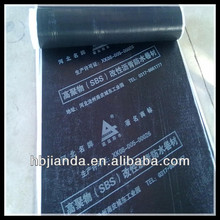 SBS modified bituminous waterproof membrane with PE film