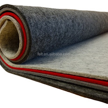 High quality pressed woolen felt