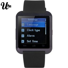 Aibaba Gold Supplier u8bluetooth watch with GSM/EDGE/GPRS network
