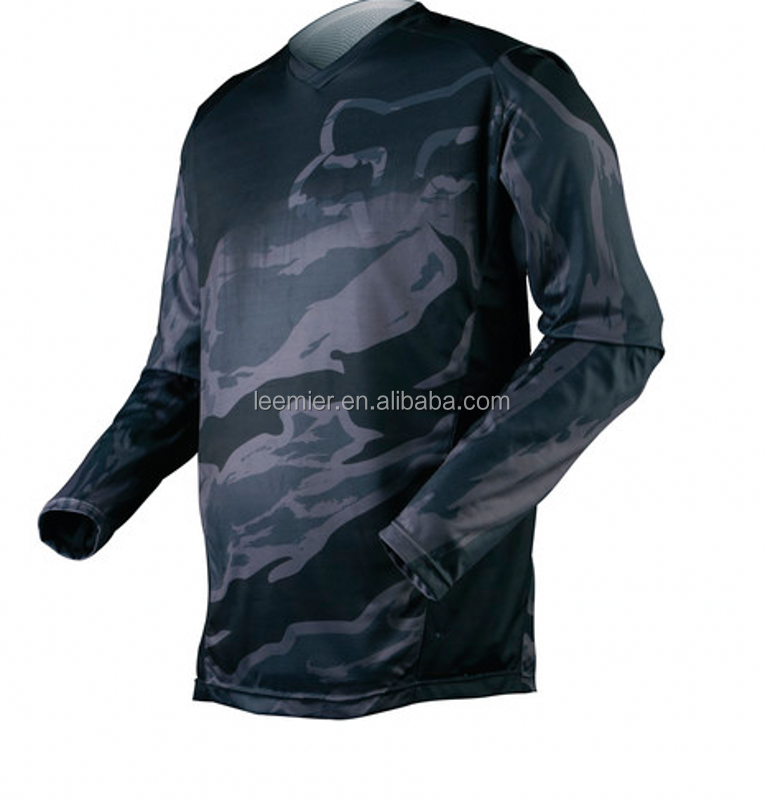 100% polyester motocrosse jersey/racing shirts