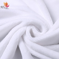 Good Quality Tricot Warp Knitted Jersey Flannel Fabric 100% Polyester Flannel Blanket and Sofa/Pajamas Fabric