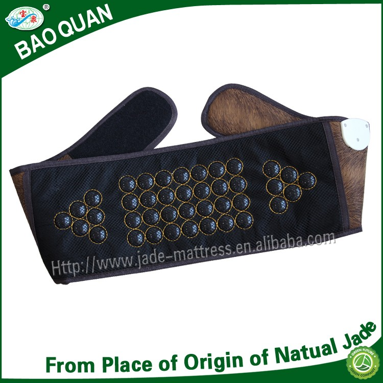 China wholesale price health care body slimming magnetic therapy far infrared heating tourmaline waistband