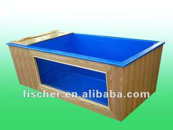 Customize fiberglas koi tank with window buy koi tank for Koi tank size