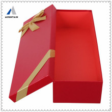 Mountain high quality paper wine box with blister insert packing