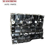 Highly Spare parts cylinder block 4HK1 Engine For ISUZU