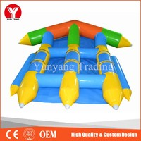Inflatable fishing boat,large inflatable banana boat