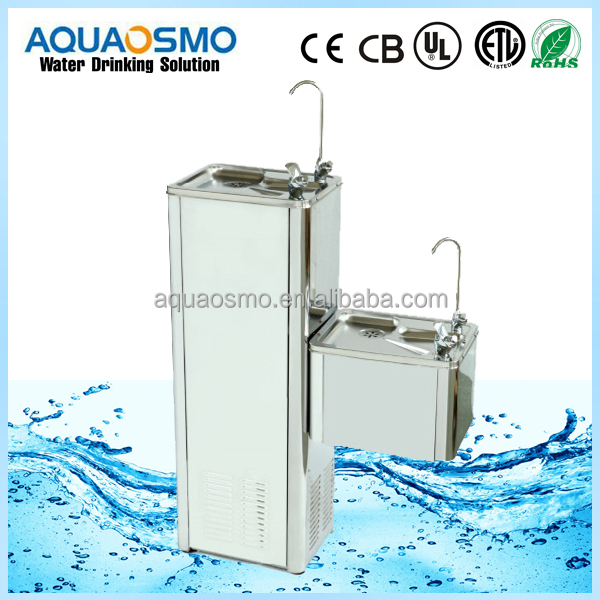 stainless steel direct pipeline connect drink water cooler