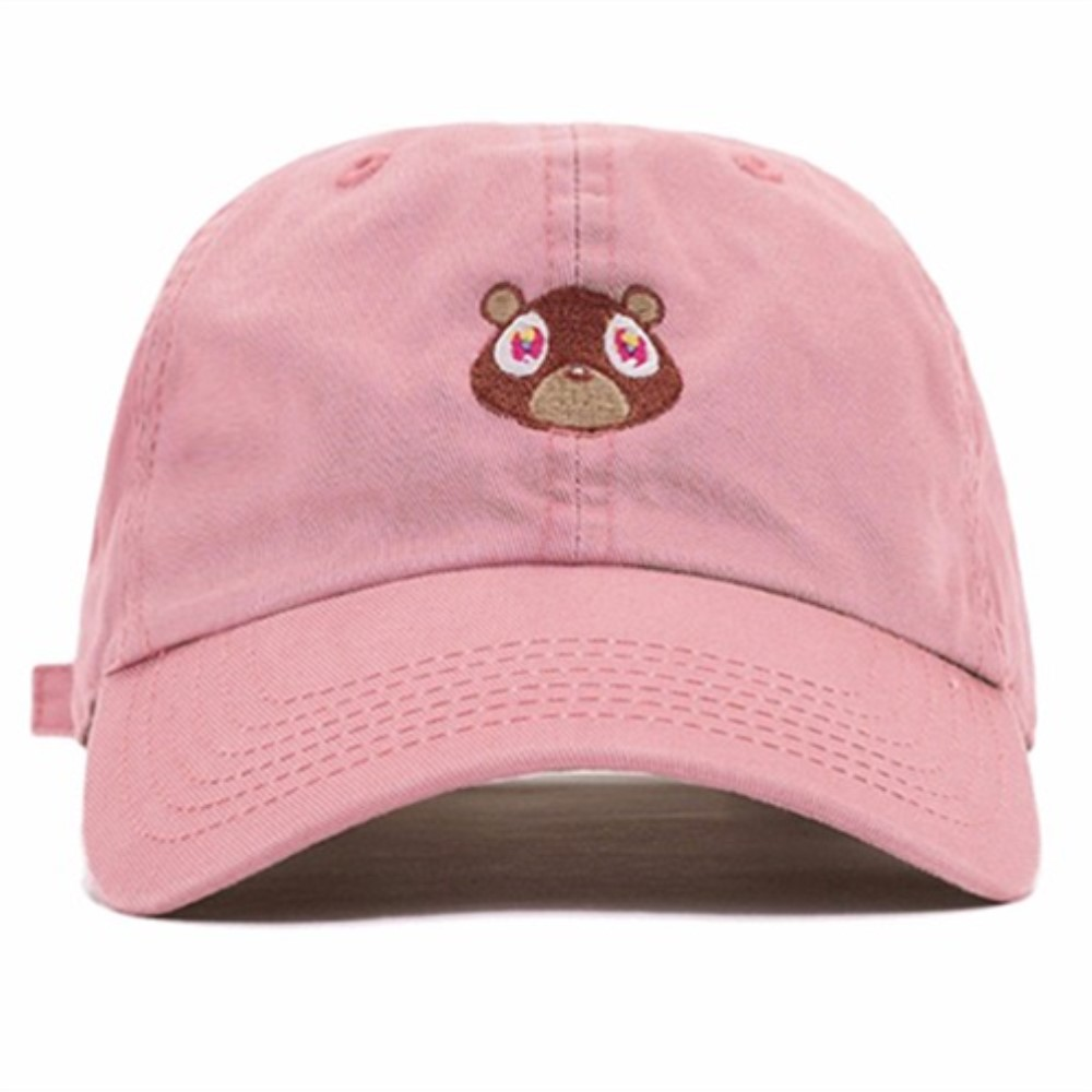 2017 New Design Baseball Cap For Men Women Cap Snapback Hat Kanye West Ye Bear Dad Hat Lovely cut Special Hat Unisex Bone