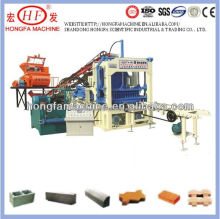Leading technology ! QT4-15 concrete paving and interlocking block machine / construction brick machine exporter in China