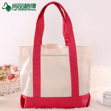 Wholesale Heavy Fashion Cotton Canvas Handle Promotional Tote Bags
