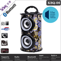 2015 Karaoke Fitting Wireless Speaker In Shenzhen BQB certificate digital mp4 player with built in speaker