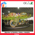 Elong carousel ride in amusement park 24 seats merry go round happy carousel horse