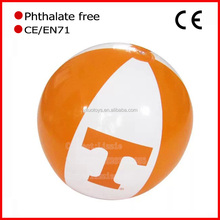 2016 New Phthalate free PVC Inflatable Beach Ball Girls