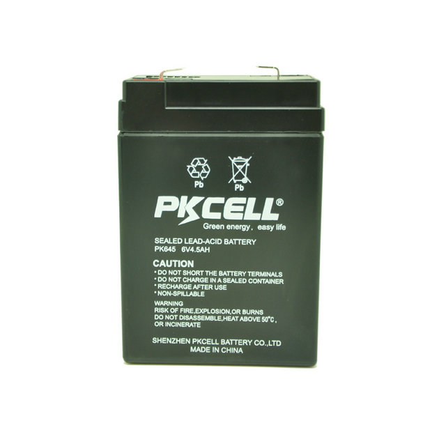 new hot products on the market waterproof lead acid 6v 4.5ah rechargeable battery for ups
